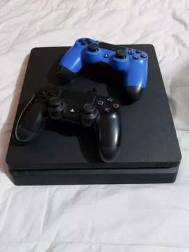 Ps4 Slim 500gb 7 juegos , 2 controles
