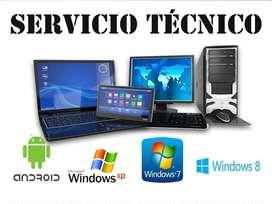 Servicio tecnico Pc/notebooks/ Software/ hardware. En el Oeste y CABA