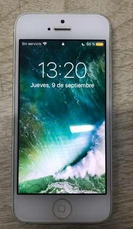 IPHONE 5 16GB inmaculado