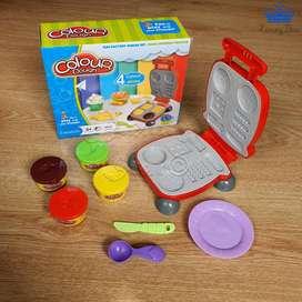 Plastilina Play Dough Color Set Comida Rapida 4 Colors y Mas