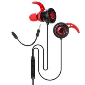Audifonos Gaming XTRIKE ME GE-109/micrófonos duales/Negro-Rojo