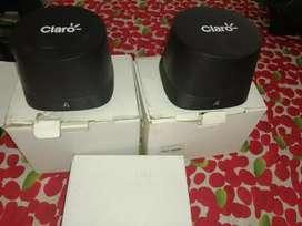 Se venden dos router wayfai de marca claro nuevos