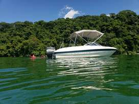 LANCHA BAYLINER CON MOTOR MERCURY FORCE 120 HP