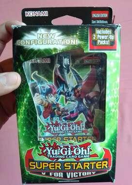 Vendo Yu-Gi-Oh Super Starter V for Victory - 1 Edición