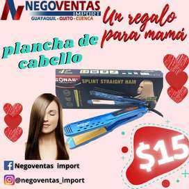 PLANCHADORA DE CABELLO SONAR EN OFERTA ÚNICA DE NEGOVENTAS