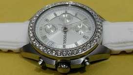Reloj Fossil Original Dama Cronografo