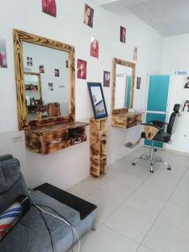 Se vende montaje para barberia