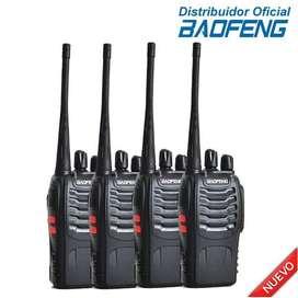 Kit X 4 Radio Handie Uhf  Baofeng