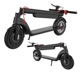 patineta electrica scooter X8 GRATIS casco fotoluminiscente