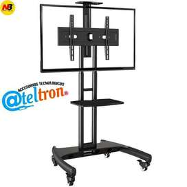 Soportes bases Tv pedestal original NB doble repisa