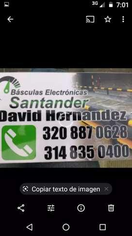 Básculas Electrónicas Santander