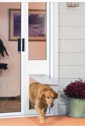 Puerta para mascotas