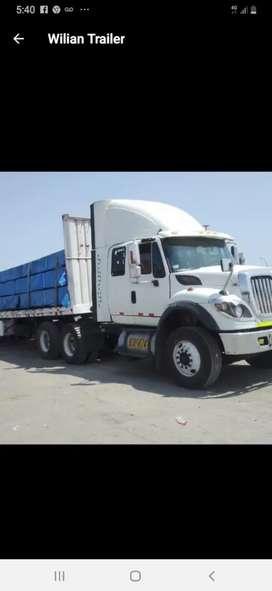 OCASION, vendo tracto con carreta international 7600 año 2012. OPERATIVO