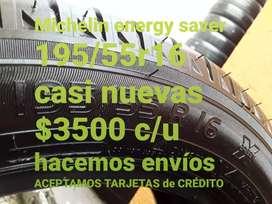 Neumaticos Michelin energy saver 195/55r16