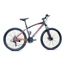 Bicicleta jumper 29 rojo y negro