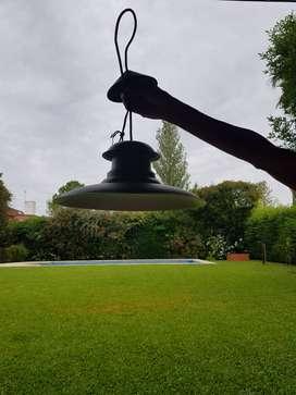 LAMPARA DE TECHO FONDO BLANCO