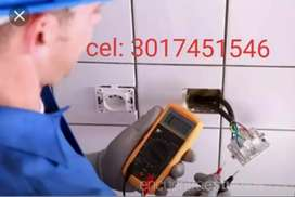 ELECTRICISTA SERVICIO INTALACION DE REDES ELÉCTRICAS