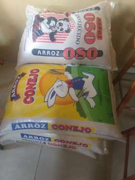 Vendo quintales de arroz