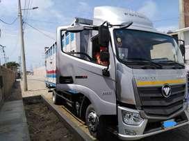 transporte de carga y mudanza en general