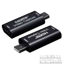 CAPTURADOR DE VIDEO CRUST PRO HDMI A USB. GRABA TUS JUEGOS!, GRABA TODO DESDE TU HDMI!