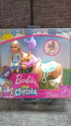 BARBIE CHELSEA PONY