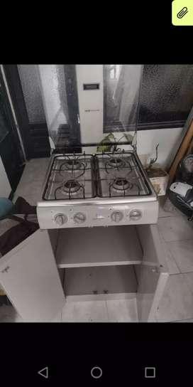 Se vende estufa 4 puestos