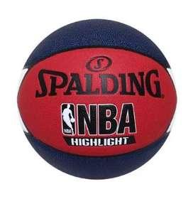 Balon Spalding Para Baloncesto Original N7 Highlight Nba