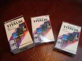 Coleccion Vivaldi en cassets