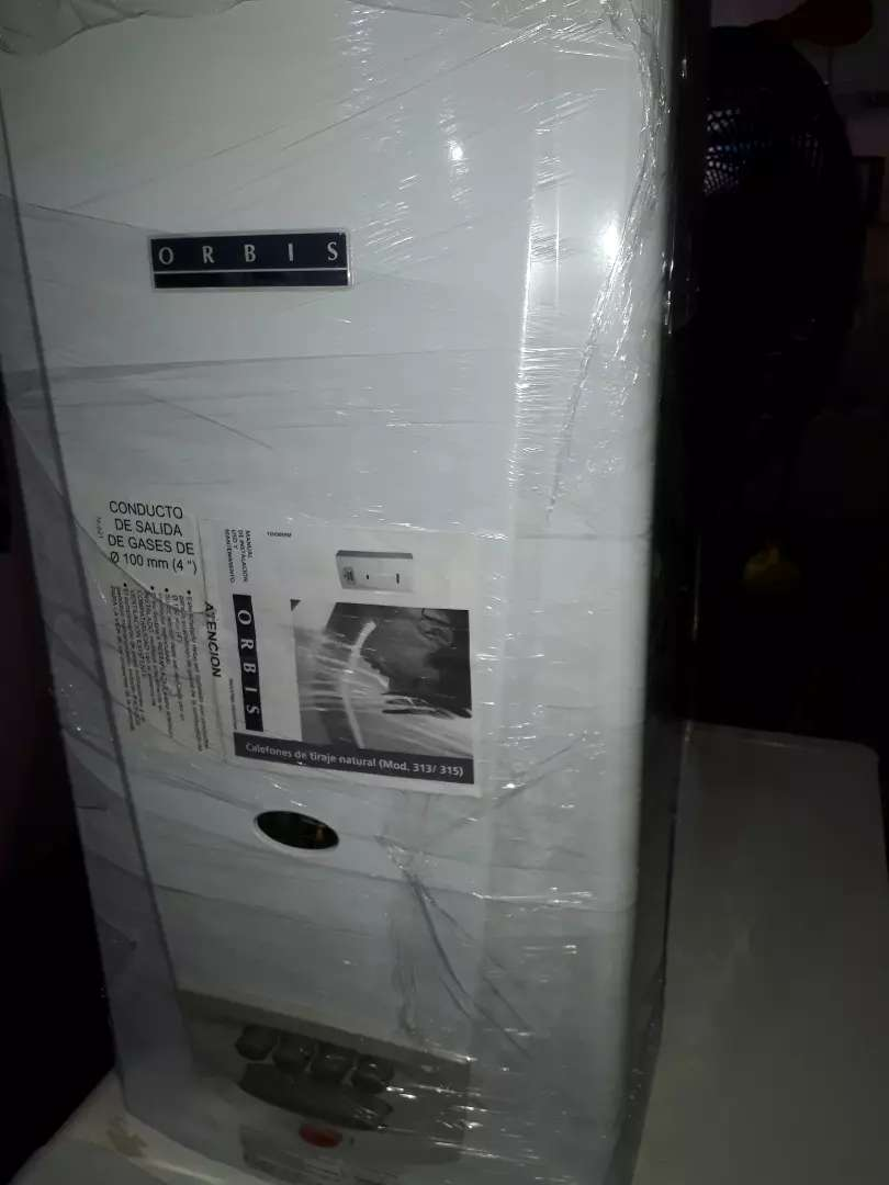Calefon orbis 14 litros PERMUTO termotanque