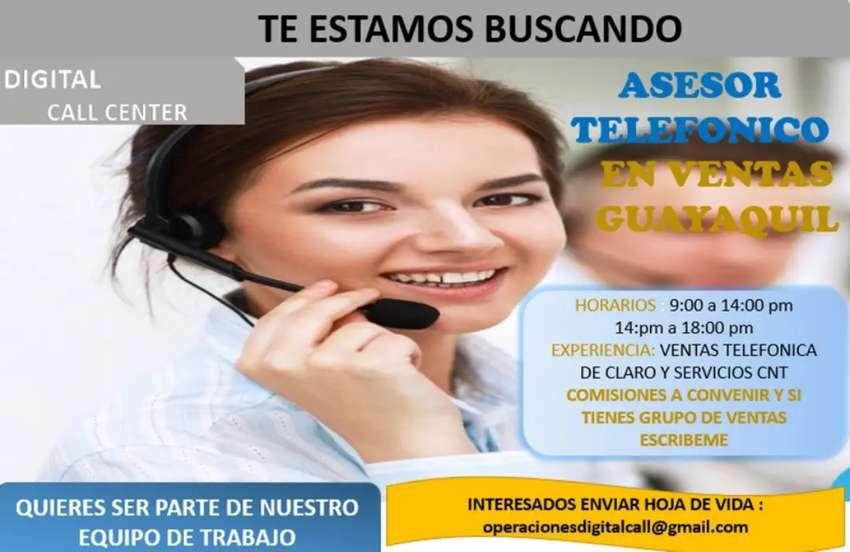 ASESORES COMERCIALES CALL CENTER 0