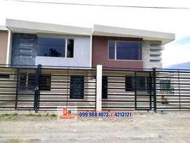 Hermosas Casas de Venta  Sector Rio Amarillo en Cuenca, C607