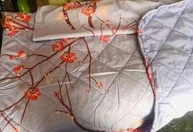 Cubrelecho doble faz cama sencilla