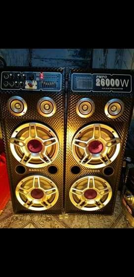 kit de parlantes potenciados!