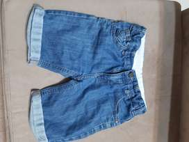 Burmuda de jean