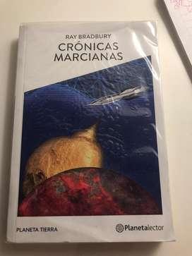 """Libro """"Cronicas Marcianas"""""""
