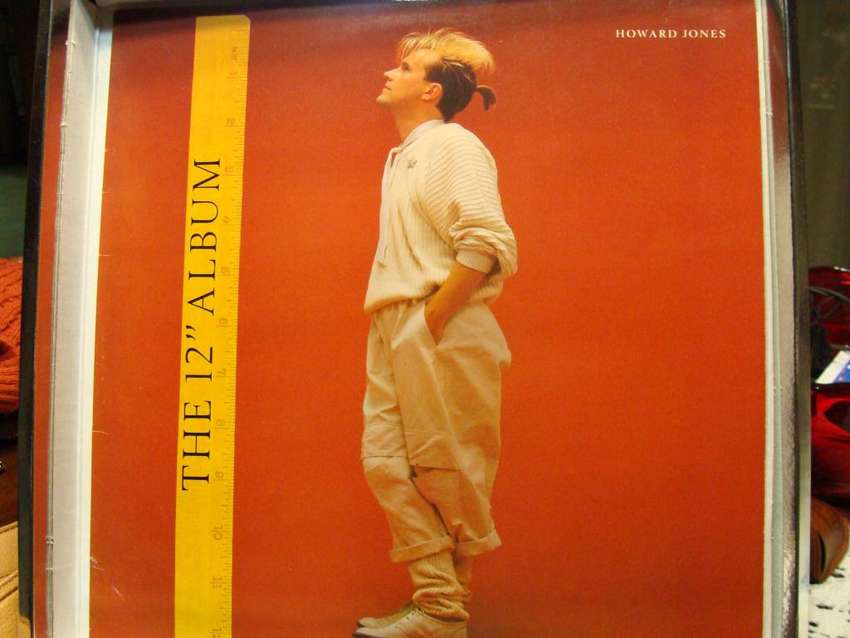 """Howard Jones – The 12"""" Album - VINYL UK 0"""