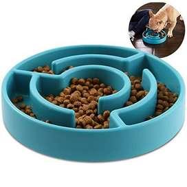 Plato De Alimento Para Perro Laberinto
