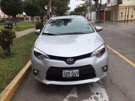 Toyota Corolla Automático Full, año 2016, 16550 km