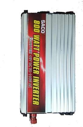 Inversor De Corriente 800 Watios 12vdc 110 Vac Saco