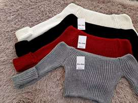 Sweaters Cortitos