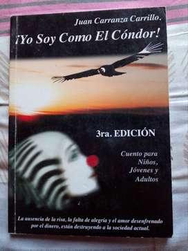 Libro ''Yo soy como el cóndor''