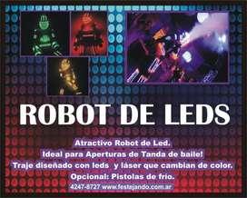 EL MEJOR ROBOT DE LED DE ZONA SUR DE GBA