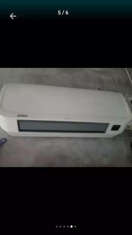 Vendo calefactor tipo split ACEPTÓ TARJETA POR MERCADO PAGO