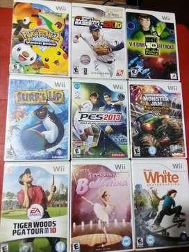 Juegos Originales Wii