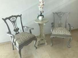 Bellas sillas vintage