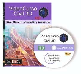 Curso de AutoCAD Civil 3D Curso completo desde cero y paso a paso. Diseño 3D aplicado a la Ingeniería Civil.