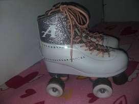 Vendo patines de Ambar soy Luna, originales