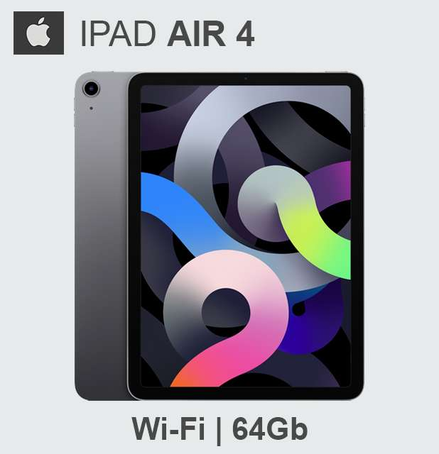 Apple iPad AIR 4ta Generacion 64Gb Wi-Fi Nuevas Selladas STOCK CÓRDOBA!