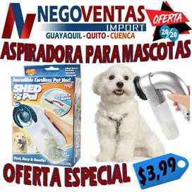ASPIRADORA PARA MASCOTAS