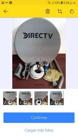 Kit para instalar direc tv pre pago nuevo